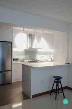 wet kitchen with concrete top glass kitchen with concrete top