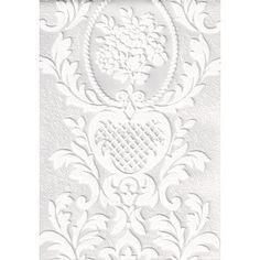 White Blown Vinyl Wallpaper by A.S. Creation 2616-18