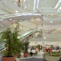 Al Rashid Mall, Dhahran, Saudi Arabia - I shopped here, got two blouses with lace trim and collar.