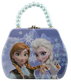 Disney Frozen Tin Mini Purse Box with Beaded Handle and Clasp @ niftywarehouse.com #NiftyWarehouse #Frozen #FrozenMovie #Animated #Movies #Kids