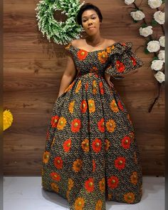 African Prom Dresses, Latest African Fashion Dresses, African Dresses For Women, African Print Fashion, African Attire, African Women, Long Dresses, Chitenge Dresses, Chitenge Outfits