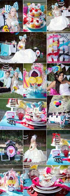 Alice in Wonderland Wedding! <3