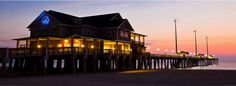Jeanette's Pier in Nags Head, North Carolina - This is where I would have my wedding reception if I had an unlimited budget