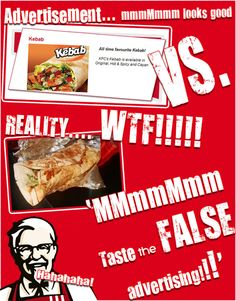 WTF indeed False Advertising, Mark Twain, Junk Food, The Secret, Sick, All About Time, Ads, Teaching, Website