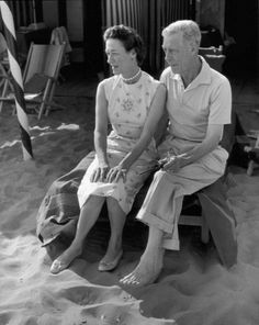 theoddmentemporium:  Duke and Duchess of Windsor. 1956.