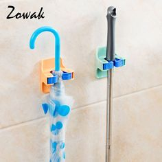 ... Buy Quality Wall Mounted Hanger Directly From China Tool Wall Mount  Suppliers: Broom Mop Gripper Holder Adhesive Storage Organizer Umbrella  Storage Rack ...