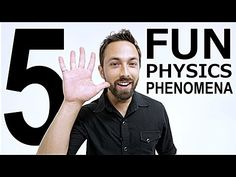 "5 Fun #Physics Phenomena on the latest episode of #Veritasium. "" #DerekMuller makes sense of the world for us according to the laws of physics """