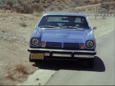My first car! I was the only one in school with a classic car! 1974 Chevrolet Vega