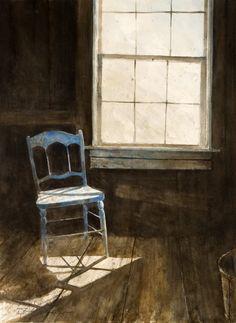 STEPHEN HODECKER  Blue Chair