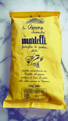 Martelli Pasta | The House of Beccaria