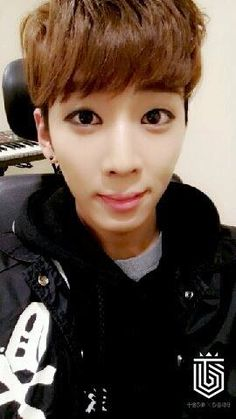 KIDOH // he reminds me of a baby deer staring into headlights hes so cute