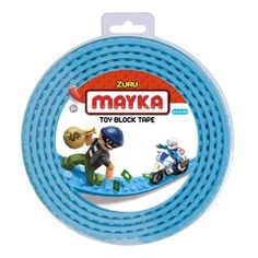 Anything becomes a base for your building creations with MAYKA Block Tape Light Blue – 4 Stud Roll Toys Uk, Legoland, Toys Shop, Toy Sale, Legos, Tapas, Light Blue, Kawaii Dress, Products