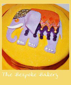 Elephant cake by The Bespoke Bakery, Cambridge