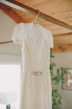 Outdoor California Wedding with Rustic Chic Decor