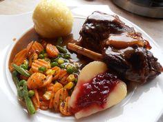 Pot Roast, Zucchini, Pork, Beef, Snacks, Ethnic Recipes, Vegan, Pie, Terrace