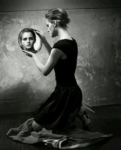 reflection of face