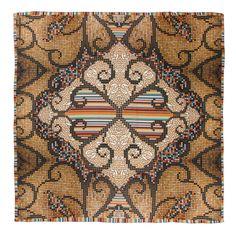 Beau // silk/cotton scarf // Art Collection Katja Filipovich for hüftgold berlin // Autumn 2014
