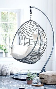 Bedroom Hanging Chair - Photos Of Bedrooms Interior Design Check more at http://jeramylindley.com/bedroom-hanging-chair/