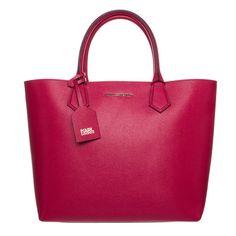 Karl Lagerfeld KOLOR - Shopping Bag - raspberry
