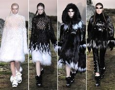 Alexander McQueen Fall/Winter 2014-2015 Collection - Paris Fashion Week  #ParisFashionWeek #fashionweek #PFW