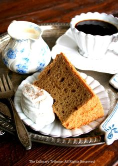 Irish Coffee Chiffon Cake