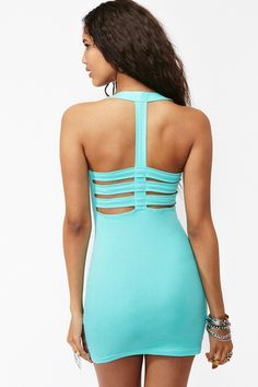 Robyn Caged Dress