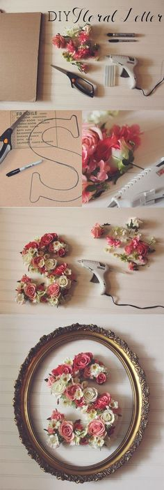 You will love these gorgeous Floral Letters DIY Ideas and we have all the Pinterest Top Pins for you to check out. Watch the video tutorial too.