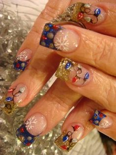 88 Awesome Christmas Nail Art Design Ideas 2017 Nails Pinterest