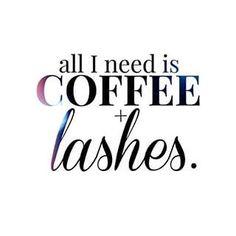 Coffee & Lashes