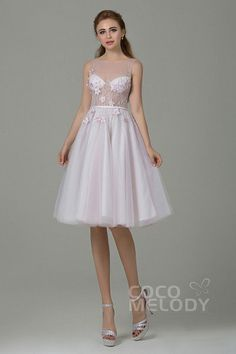06e54d86f89cd Cocomelody Wedding Dresses A-Line CWXK15001 cocomelody  weddingdress  Wedding Dress Types