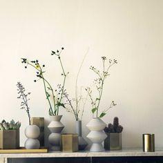 Geometry Vase-4 | FERM LIVING | DomésticoShop