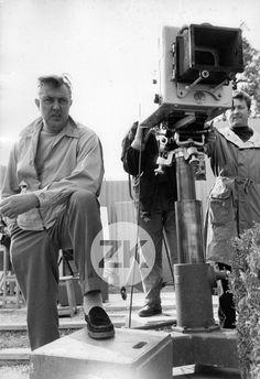 JACQUES TATI Mon Oncle CAMERA Tournage Henri ELWING Photo 1958