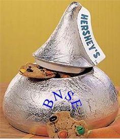 Hershey Kiss Cookie Jar