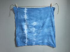 MADE BY: Flora Poste Studio SHIPS FROM: Philadelphia, Pennsylvania DETAILS: Hand-dyed using the ancient Japanese Shibori technique, this flour sack tea towel is super soft, absorbent and lint free. We're obsessed with flour sack towels, which have been used in American homes for centuries and are super soft, absorbent and lint free (i.e. the best towel to dry wine glasses!). Dyed with non-toxic fiber reactive dyes for excellent color fastness and durability.   Hand-dyed and one of a kind…