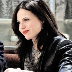 Awesome Regina in Granny's Diner in Storybrooke Maine in an awesome S4 episode of Once