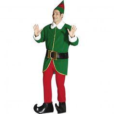 Xmas Elf Mens Costume