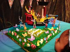 The Pirate Fairy cake