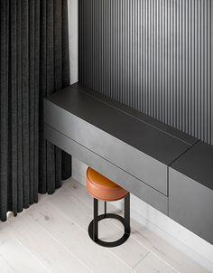 Pearl copper on Behance Wardrobe Design Bedroom, Bedroom Bed Design, Modern Bedroom Design, Home Room Design, Home Bedroom, Home Interior Design, Interior Architecture, Bedroom Decor, Bedroom Small