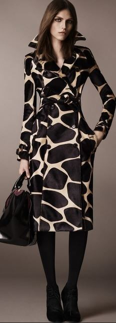 Love this coat!!...although I'd look more like a jersy cow and less like a graff.,,lol