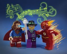 Darren Criss to play Music Meister on the Supergirl/The Flash musical crossover episodes! A Glee/Starkid/Broadway reunion of epic superhero (and villain) proportions! Crossover Episodes, Lego Dc, Lego Minifigure, Darren Criss, The Flash, Dc Universe, Glee, Supergirl
