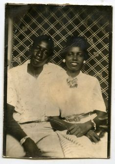 1940s Vintage studio photobooth photo African American lady and man | Collectibles, Photographic Images, Contemporary (1940-Now) | eBay!