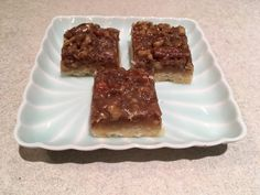 Caramel Pecan Squares