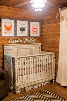 Southern Priss Designs: Rustic Baby Nursery