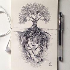 Life tree ©Alfred Basha