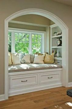 Ideal reading space!