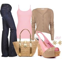 A fashion look from March 2013 featuring BKE core tops, Citizens of Humanity jeans and Paris Hilton shoes. Browse and shop related looks.