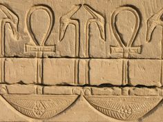 https://flic.kr/p/BoW2x | Egypt 2007 | Dendera temple. Detail of a hieroglyphic inscription from the wall temple.