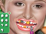 Paris Hilton at Dentist    Its time for teeth curing!!! Come on kid, time to become a wacky dentist. Paris Hilton  has some dental problems. Try yourself as a virtual dentist for this popular celebrity. Destroy the germs by picking the best tools to treat your patient in a best way. You have to perform various responsibilities like dental extraction, drilling, teeth cleaning, whitening etc. Have fun! Use Mouse to interact. Use Mouse to interact.  http://ezarcade.net/games/p
