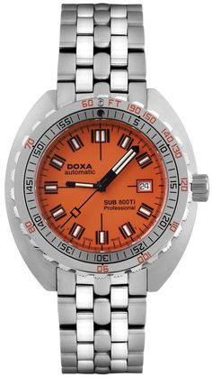 Doxa Watch Sub 800Ti Professional #add-content #bezel-unidirectional #bracelet-strap-titanium #brand-doxa #case-material-titanium #case-width-44-7mm #date-yes #delivery-timescale-1-2-weeks #dial-colour-orange #gender-mens #limited-edition-yes #luxury #movement-automatic #official-stockist-for-doxa-watches #packaging-doxa-watch-packaging #style-divers #subcat-sub-800ti #supplier-model-no-635189692809 #warranty-doxa-official-2-year-guarantee #water-resistant-800m