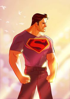 Superman by Stephen Bryne